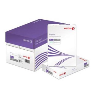 White 120gsm to 160gsm Xerox Premier Paper A4 210mm x 297mm 160gsm White [Box 1250]